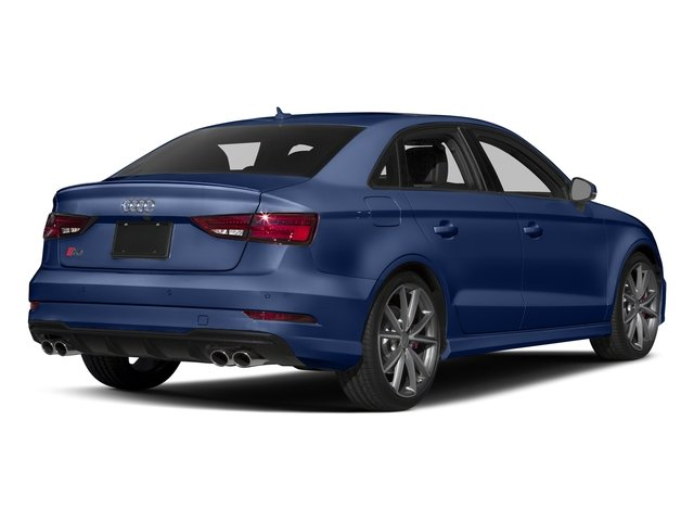 Navarra Blue Metallic 2017 Audi S3 Pictures S3 Sedan 4D S3 Premium Plus AWD I4 Turb photos rear view