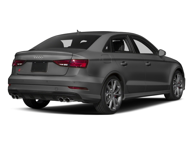 Nano Gray Metallic 2017 Audi S3 Pictures S3 Sedan 4D S3 Premium Plus AWD I4 Turb photos rear view
