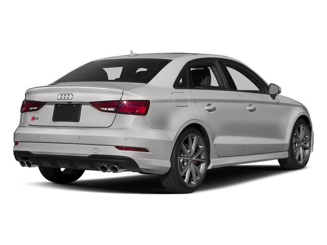 Florett Silver Metallic 2017 Audi S3 Pictures S3 Sedan 4D S3 Premium Plus AWD I4 Turb photos rear view
