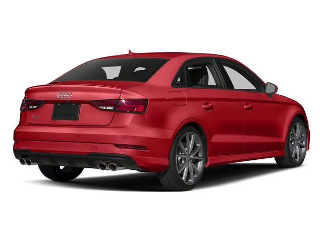 Tango Red Metallic 2017 Audi S3 Pictures S3 Sedan 4D S3 Premium Plus AWD I4 Turb photos rear view