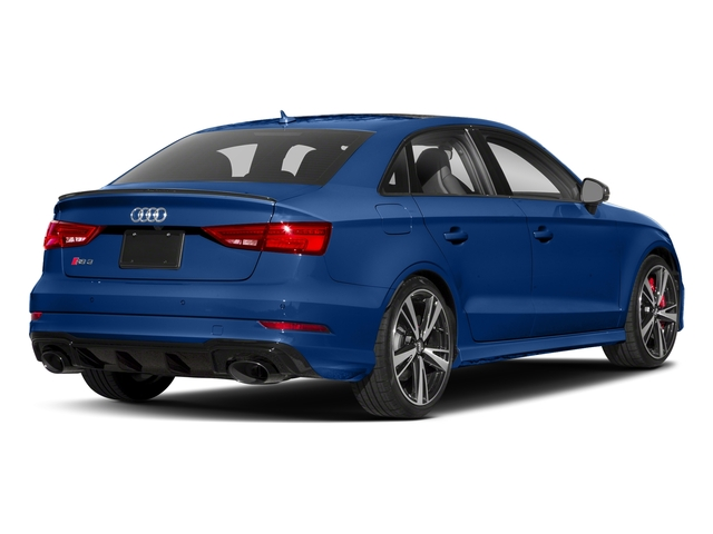 Ara Blue Crystal Effect 2017 Audi RS 3 Pictures RS 3 Sedan 4D RS3 AWD photos rear view