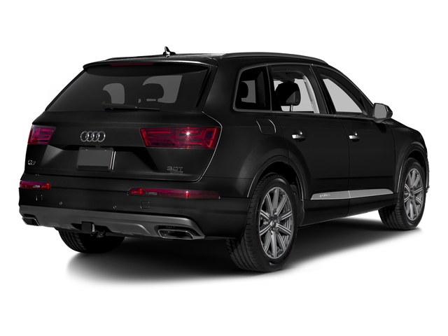Night Black 2017 Audi Q7 Pictures Q7 2.0 TFSI Premium photos rear view
