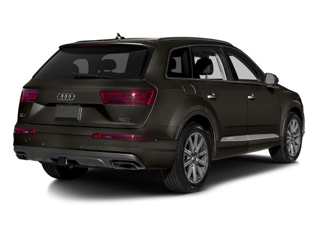 Argus Brown Metallic 2017 Audi Q7 Pictures Q7 2.0 TFSI Premium photos rear view