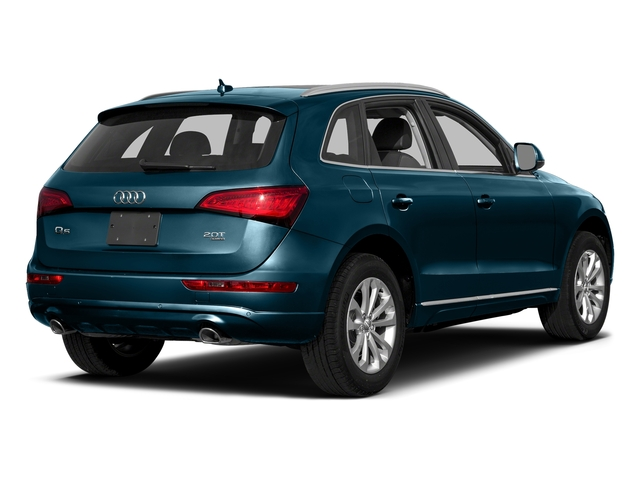 Utopia Blue Metallic 2017 Audi Q5 Pictures Q5 Utility 4D 3.0T Premium Plus AWD photos rear view