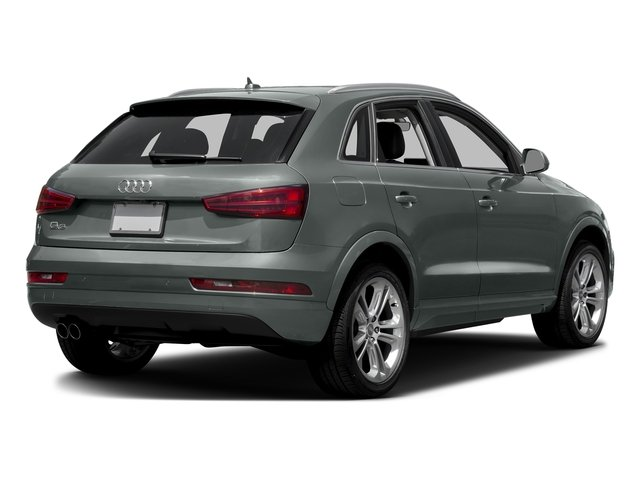 Monsoon Gray Metallic 2017 Audi Q3 Pictures Q3 2.0 TFSI Premium quattro AWD photos rear view