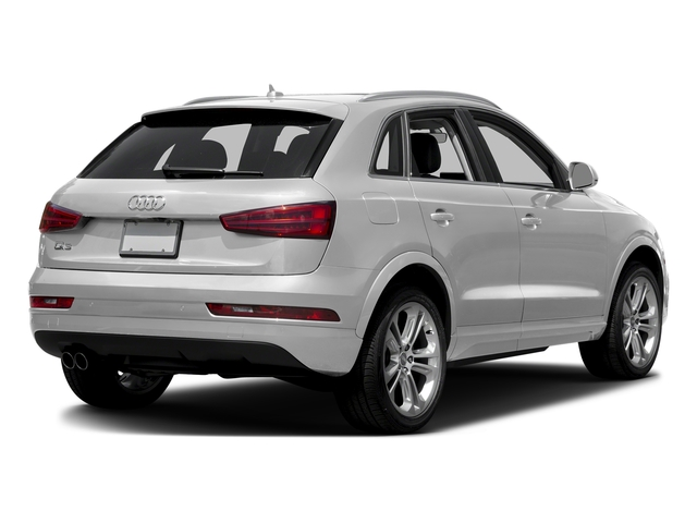 Glacier White Metallic 2017 Audi Q3 Pictures Q3 2.0 TFSI Premium quattro AWD photos rear view