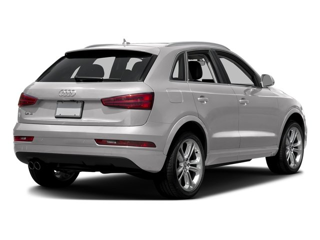 Florett Silver Metallic 2017 Audi Q3 Pictures Q3 2.0 TFSI Premium quattro AWD photos rear view