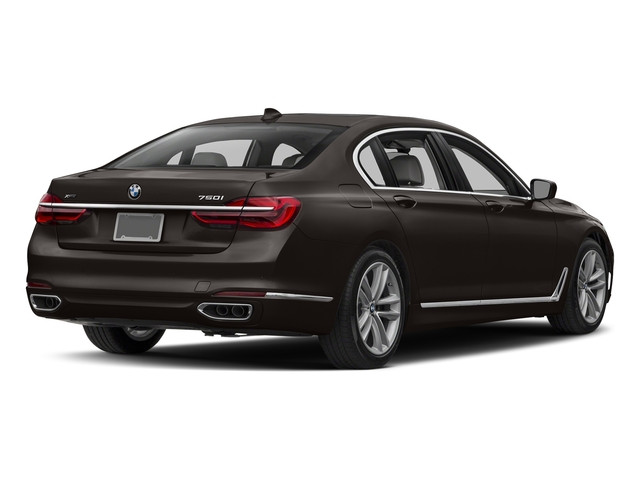 Jatoba Brown Metallic 2017 BMW 7 Series Pictures 7 Series Sedan 4D 750xi AWD Turbo photos rear view