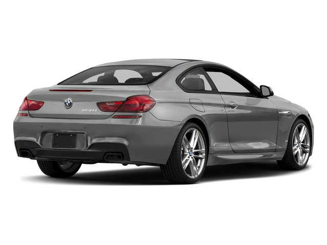 Space Gray Metallic 2017 BMW 6 Series Pictures 6 Series Coupe 2D 650i V8 photos rear view