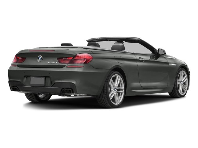 Space Gray Metallic 2017 BMW 6 Series Pictures 6 Series Convertible 2D 650i V8 photos rear view
