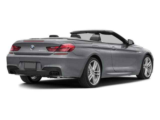 Glacier Silver Metallic 2017 BMW 6 Series Pictures 6 Series Convertible 2D 650i V8 photos rear view