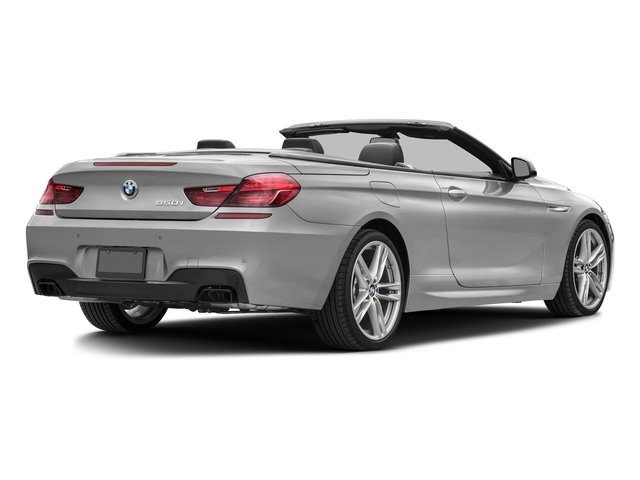 Mineral White Metallic 2017 BMW 6 Series Pictures 6 Series Convertible 2D 650i V8 photos rear view
