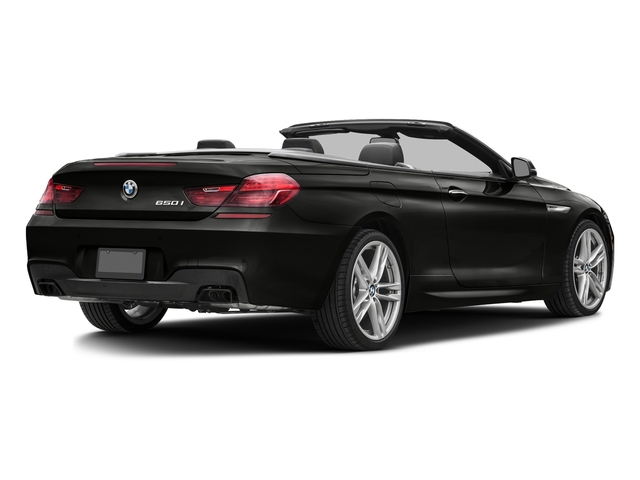 Citrin Black Metallic 2017 BMW 6 Series Pictures 6 Series Convertible 2D 650i V8 photos rear view
