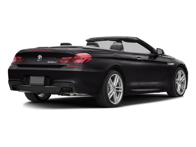 Ruby Black Metallic 2017 BMW 6 Series Pictures 6 Series Convertible 2D 650i V8 photos rear view