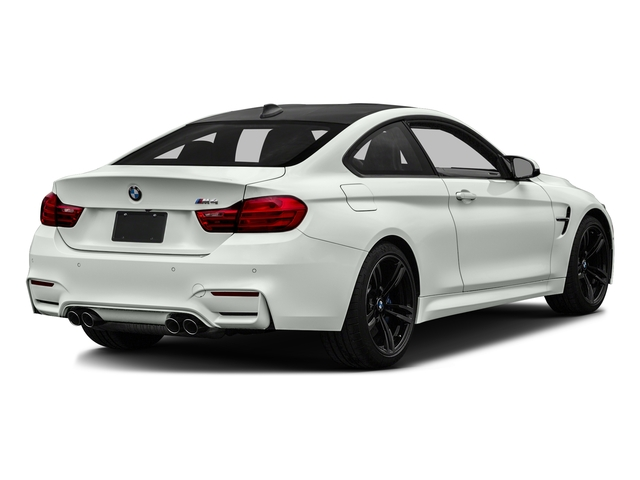 Alpine White 2017 BMW M4 Pictures M4 Coupe 2D M4 I6 Turbo photos rear view