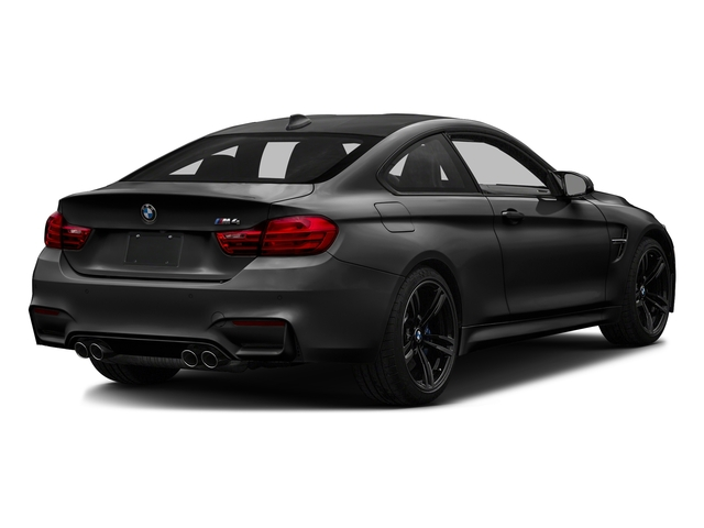 Black Sapphire Metallic 2017 BMW M4 Pictures M4 Coupe 2D M4 I6 Turbo photos rear view