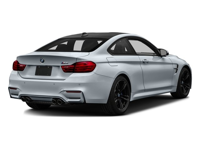 Silverstone Metallic 2017 BMW M4 Pictures M4 Coupe 2D M4 I6 Turbo photos rear view