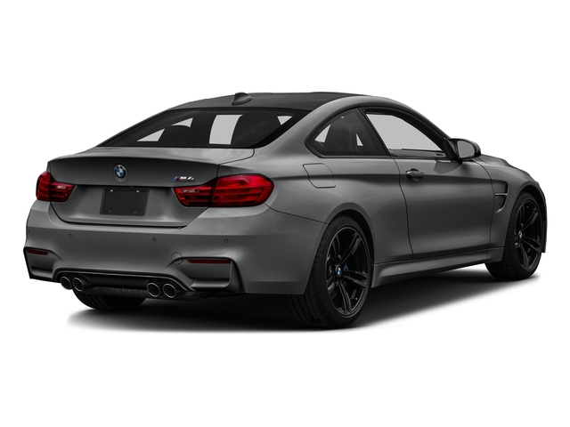 Mineral Gray Metallic 2017 BMW M4 Pictures M4 Coupe 2D M4 I6 Turbo photos rear view