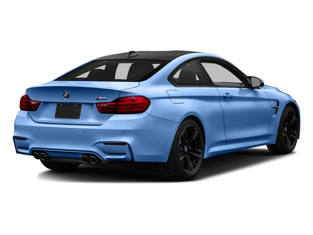 Yas Marina Blue Metallic 2017 BMW M4 Pictures M4 Coupe 2D M4 I6 Turbo photos rear view