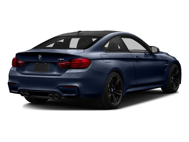 Tanzanite Blue Metallic 2017 BMW M4 Pictures M4 Coupe 2D M4 I6 Turbo photos rear view
