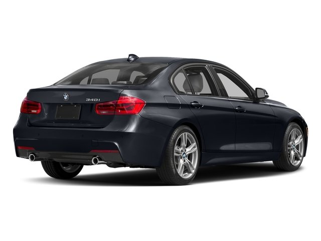 Imperial Blue Metallic 2017 BMW 3 Series Pictures 3 Series Sedan 4D 340i I6 Turbo photos rear view