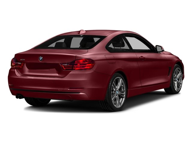 Melbourne Red Metallic 2017 BMW 4 Series Pictures 4 Series Coupe 2D 430xi AWD I4 Turbo photos rear view