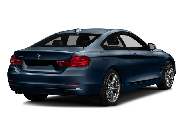 Midnight Blue Metallic 2017 BMW 4 Series Pictures 4 Series Coupe 2D 430xi AWD I4 Turbo photos rear view
