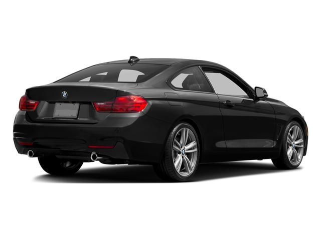 Black Sapphire Metallic 2017 BMW 4 Series Pictures 4 Series Coupe 2D 440i I6 Turbo photos rear view