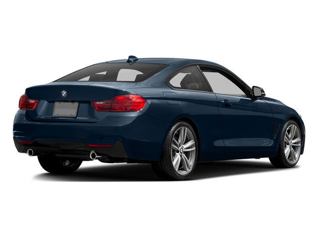 Midnight Blue Metallic 2017 BMW 4 Series Pictures 4 Series Coupe 2D 440i I6 Turbo photos rear view