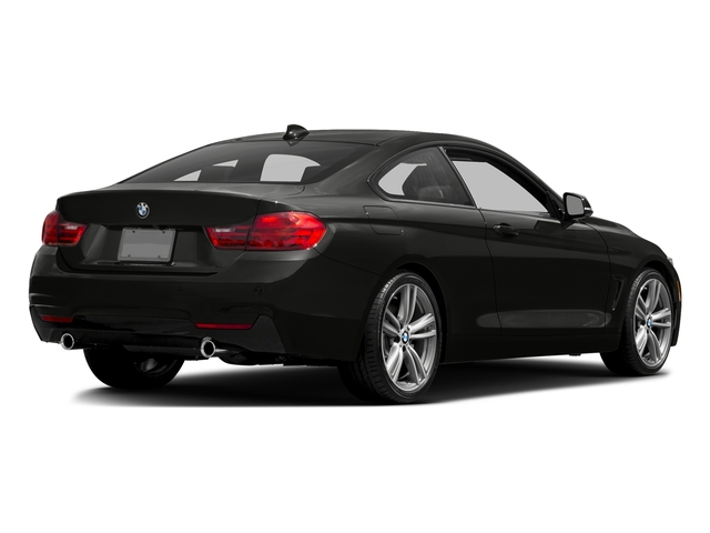 Citrin Black Metallic 2017 BMW 4 Series Pictures 4 Series Coupe 2D 440i I6 Turbo photos rear view
