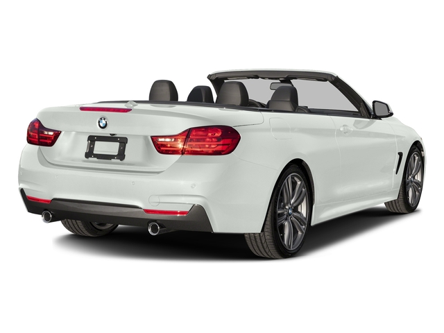 Alpine White 2017 BMW 4 Series Pictures 4 Series Convertible 2D 440i I6 Turbo photos rear view