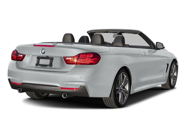 Glacier Silver Metallic 2017 BMW 4 Series Pictures 4 Series Convertible 2D 440i I6 Turbo photos rear view