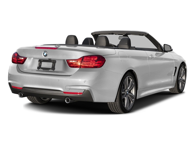 Mineral White Metallic 2017 BMW 4 Series Pictures 4 Series Convertible 2D 440i I6 Turbo photos rear view