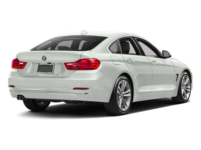 Alpine White 2017 BMW 4 Series Pictures 4 Series Sedan 4D 430xi AWD I4 Turbo photos rear view