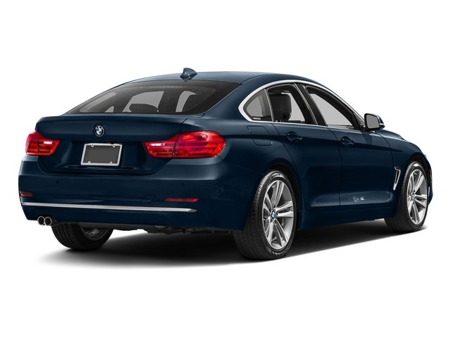 Midnight Blue Metallic 2017 BMW 4 Series Pictures 4 Series Sedan 4D 430xi AWD I4 Turbo photos rear view
