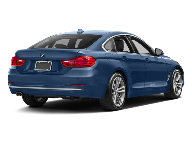 Estoril Blue Metallic 2017 BMW 4 Series Pictures 4 Series Sedan 4D 430xi AWD I4 Turbo photos rear view