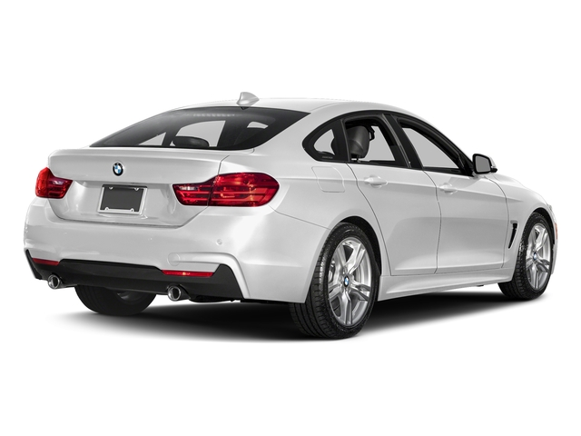 Mineral White Metallic 2017 BMW 4 Series Pictures 440i Gran Coupe Photos Rear View