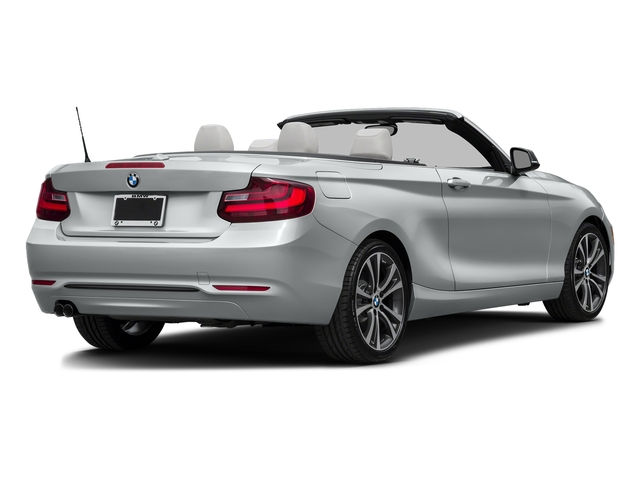 Glacier Silver Metallic 2017 BMW 2 Series Pictures 2 Series Convertible 2D 230xi AWD I4 Turbo photos rear view