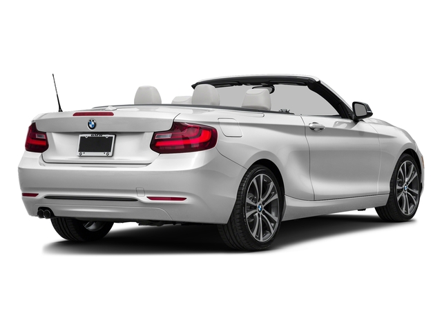 Mineral White Metallic 2017 BMW 2 Series Pictures 2 Series Convertible 2D 230xi AWD I4 Turbo photos rear view