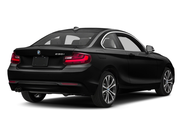 Black Sapphire Metallic 2017 BMW 2 Series Pictures 2 Series Coupe 2D 230xi AWD I4 Turbo photos rear view