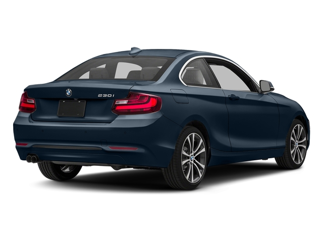 Deep Sea Blue Metallic 2017 BMW 2 Series Pictures 2 Series Coupe 2D 230xi AWD I4 Turbo photos rear view