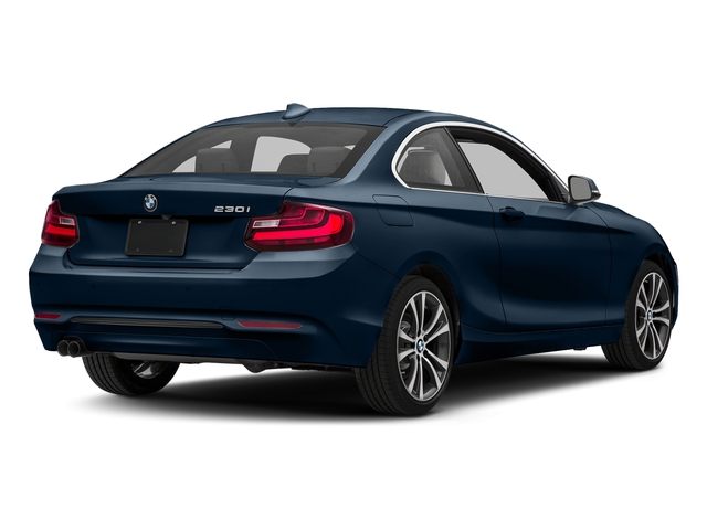 Midnight Blue Metallic 2017 BMW 2 Series Pictures 2 Series Coupe 2D 230xi AWD I4 Turbo photos rear view
