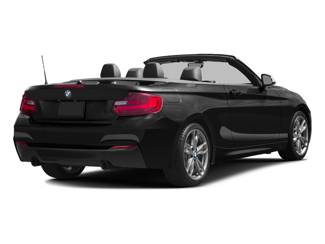 Black Sapphire Metallic 2017 BMW 2 Series Pictures 2 Series Convertible 2D M240i I6 Turbo photos rear view