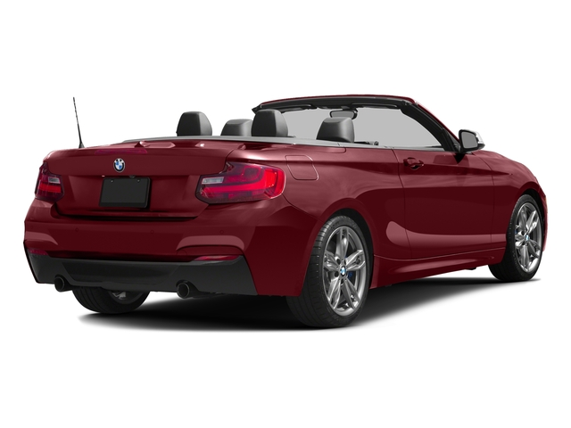Melbourne Red Metallic 2017 BMW 2 Series Pictures 2 Series Convertible 2D M240i I6 Turbo photos rear view