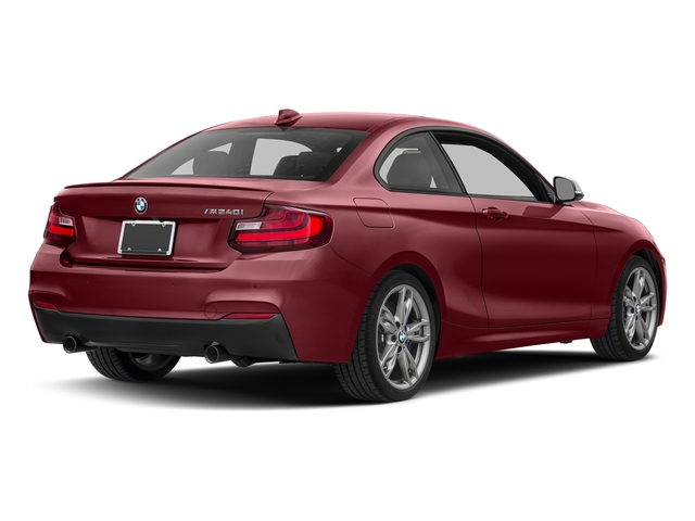 Melbourne Red Metallic 2017 BMW 2 Series Pictures 2 Series Coupe 2D M240i I6 Turbo photos rear view