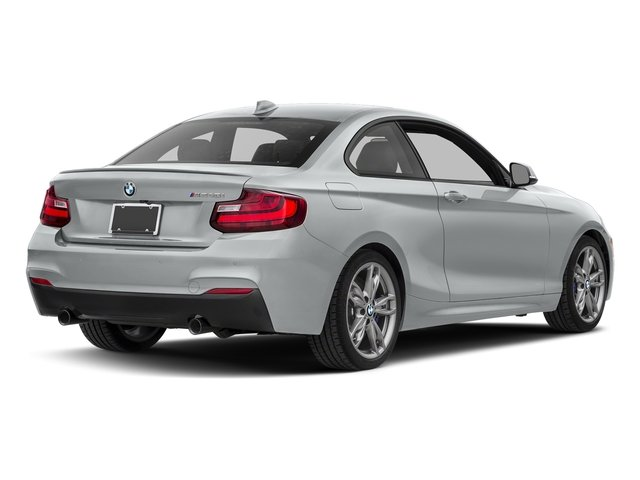 Glacier Silver Metallic 2017 BMW 2 Series Pictures 2 Series Coupe 2D M240i I6 Turbo photos rear view