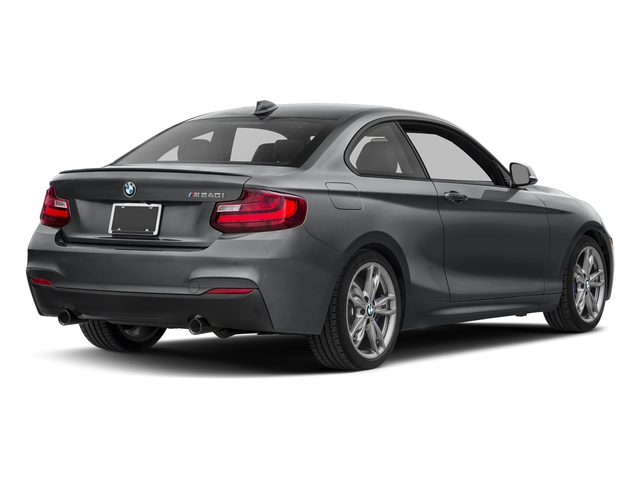 Mineral Gray Metallic 2017 BMW 2 Series Pictures 2 Series Coupe 2D M240i I6 Turbo photos rear view