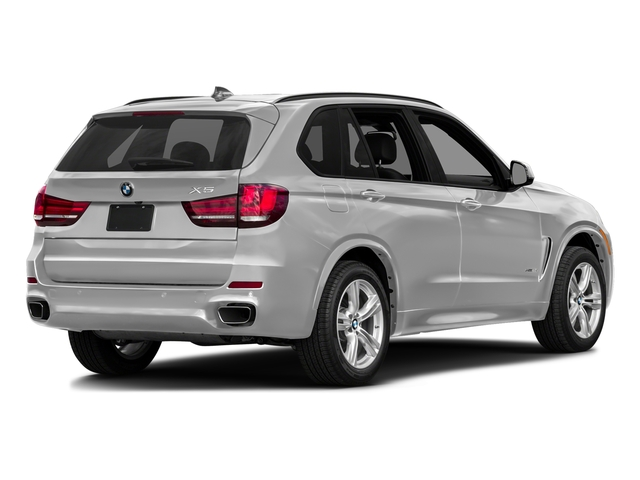 Pearl Silver Metallic 2017 BMW X5 Pictures X5 Utility 4D 35d AWD I6 T-Diesel photos rear view