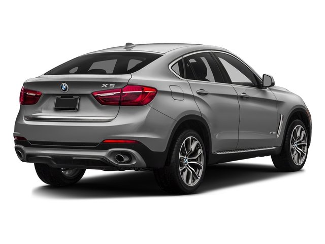 Pearl Silver Metallic 2017 BMW X6 Pictures X6 Utility 4D sDrive35i 2WD I6 Turbo photos rear view