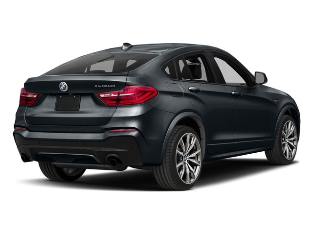 Carbon Black Metallic 2017 BMW X4 Pictures X4 Utility 4D 28i AWD I4 Turbo photos rear view